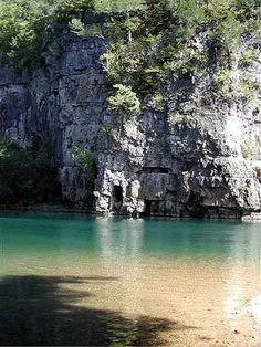 Current River~ I paddled 90 miles of this river a few years ago.  Absolutely beautiful.  Canoed from Baptist Camp all the way to Big Spring.  If you get a chance to do this trip.... do it!