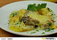 Kotlety na smetaně recept - TopRecepty.cz Eggs, Chicken, Meat, Breakfast, Food, Morning Coffee, Eten, Egg, Meals