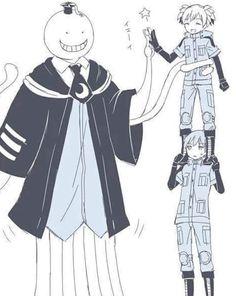 Nagisa and Karma ansatsu kyoushitsu