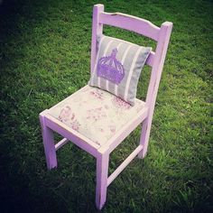 Boho chair - by Revamped by Samantha