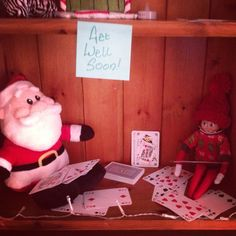 Elf on the shelf- go fish