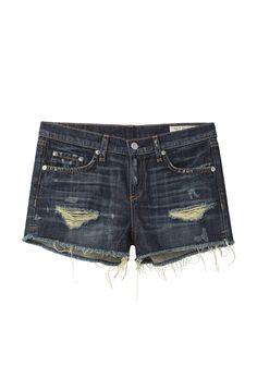 Rag & Bone / The Cut-Off Denim Short - Outfit 37