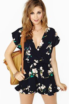 Sweet Afternoon Romper in Clothes Bottoms at Nasty Gal