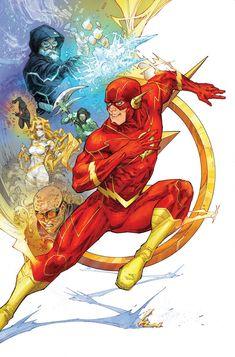 The Flash - Rogues' Reign Part Three (Issue) Flash Comics, Arte Dc Comics, Dc Comics Superheroes, Dc Comics Characters, Star Wars Poster, Star Wars Art, Star Trek, Flash Art, The Flash