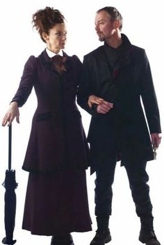 The Master and Missy arm in arm from Doctor Who