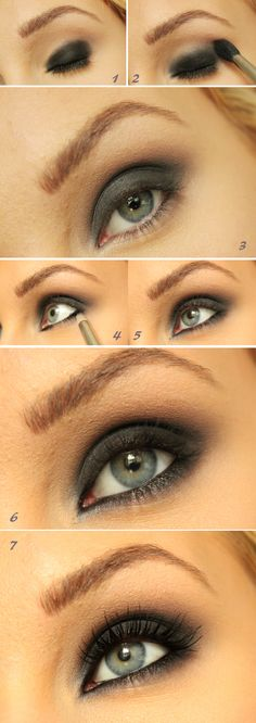 Smokey eye tutorial (Hit translation button on link for step by step text)