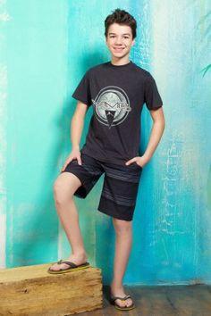 T-shirt Vamos et boardshort  #style #beach #summer #cool #boys