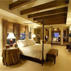 Romantic Contemporary Bedroom by Angela Grande