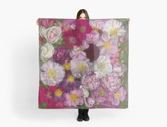 """My new """"Bed of Roses"""" series is available as products on Redbubble - this scarf, for instance. Heirloom Roses, Buy Bed, New Beds, Say Hi, Order Prints, My Images, Note Cards, Duvet Covers, Photographs"""