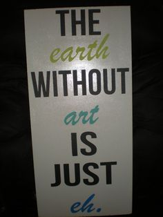 earth without art $25
