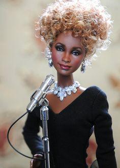 Whitney Houston doll by Noel Cruz