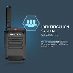 mobile Two way radio Identity Recognition Two Way Radio, Ham Radio, Walkie Talkie, Radios, Charger, Identity, Commercial, Personal Identity