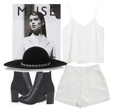 """""""Muse"""" by theyouthryder ❤ liked on Polyvore featuring Boohoo, Monki, Yves Saint Laurent and BCBGeneration"""