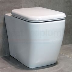Durab Dynasty Back to Wall Toilet Including Soft Close Toilet Seat