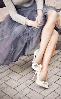 Invitadas elegantes y... con faldas de #tul! | AtodoConfetti - Blog de BODAS y FIESTAS llenas de confetti