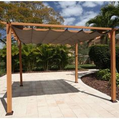 The pergola kits are the easiest and quickest way to build a garden pergola. There are lots of do it yourself pergola kits available to you so that anyone could easily put them together to construct a new structure at their backyard. Gazebo, Vinyl Pergola, Steel Pergola, Pergola Canopy, Cheap Pergola, Wooden Pergola, Backyard Pergola, Pergola Shade, Rustic Pergola