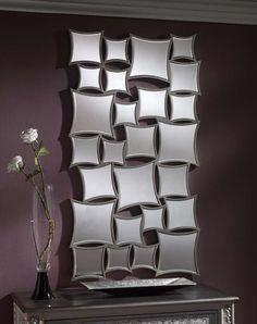 Espejos modernos de resina modelo BRATISLAVA. Decoracion Beltran, tu tienda de espejos originales en internet.