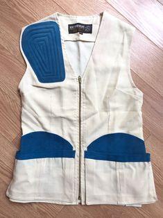 6fd1949b106e0 Vintage Hunting Vest, 100 Straight, Outdoor Gaming Vest, Fishing Vest,  Outdoor Vest with Pockets, Ladies Hunting Vest, Shooting Vest