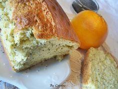 Plumcake all'arancio e semi di papavero
