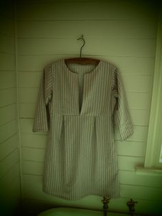 Schoolhouse Tunic, Pattern by Sew Liberated