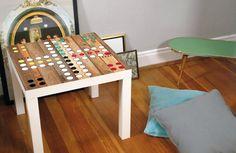 Spieltischdesign als Möbelfolie für deinen Tisch