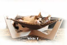 gift ideas for women For Him Hammock Perch cat by artWoodworking