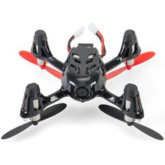Amazon.com: Hubsan X4 (H107C) 4 Channel 2.4GHz RC Quad Copter with Camera - Red/Black, Red/Black: Toys & Games