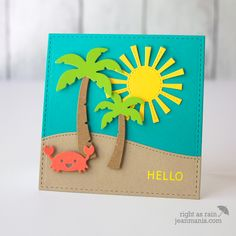 Lawn Fawn – Tropical Hello