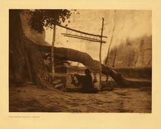 Navajo Blanket Weaver (1904) by Edward S. Curtis