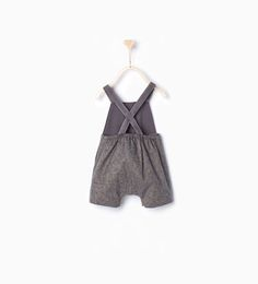 Romper suit with braces-Outfits & romper suits-Mini (0-12 months)-KIDS | ZARA United States