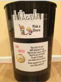 Pick a chore
