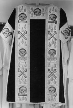 Funerary vestments
