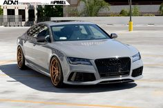 https://flic.kr/p/smwgPm | Audi RS7 ADV10R Track Spec CS Series | ADV.1 Wheels is a global leader of custom forged wheels for high performance and luxury cars. We design, manufacture and market concave wheels for the automotive industry.