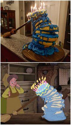 The sleeping beauty cake « latest Disney Cakes, Disney Food, Disney And Dreamworks, Disney Pixar, Sleeping Beauty Cake, Sleeping Beauty Funny, Sleeping Beauty Tattoo, Dessin Animé Lolirock, Funny Disney Jokes
