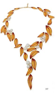 Necklace by Roger Thomas for SICIS Jewels, ht