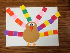Turkeys with Pattern Feathers- Picture Only Turkey, Turkey, Turkeys! Turkeys with Pattern Feathers- Picture Only Thanksgiving Placemats, Thanksgiving Art, Thanksgiving Crafts For Kids, Fall Crafts, Fall Preschool, Preschool Activities, Grade 2 Patterning Activities, Writing Activities, Thanksgiving Crafts For Kindergarten