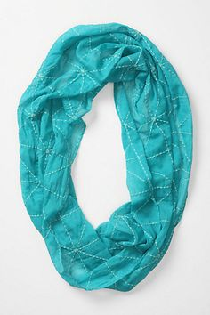 Spun Star Loop #anthropologie, i've been hoping for a scarf this color.