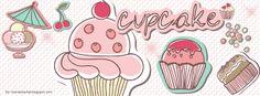 Mundo da Chel: Capas para Facebok: Cupcakes e fofuras