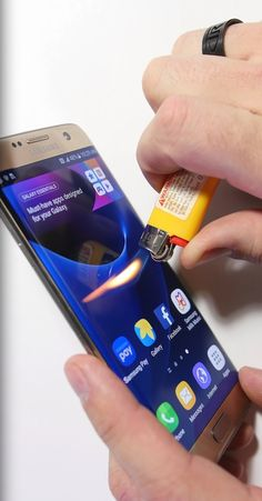 A YouTuber who got the Samsung Galaxy S7 Edge early decided to put the phone through a series of torture tests to see how durable it is