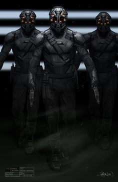 ArtStation - Altered Carbon- Trooper concept, Keith Christensen