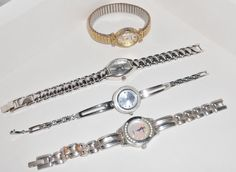 Vintage watch lot for parts or will need by TearDropCurio on Etsy, $30.00