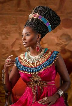 My depiction of Queen Nefertiti Black Women Art, Beautiful Black Women, Black Girls, Beautiful People, African Beauty, African Women, African Fashion, African Art, Art Afro