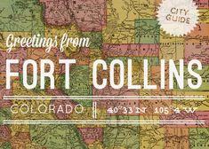 fortcollinscityguide / Design Sponge / Fort Collins, Colorado / where I live Asheville North Carolina, Asheville Nc, Places To Travel, Places To Go, Fort Collins Colorado, Colorado City, Co Design, Travel Channel, Down South