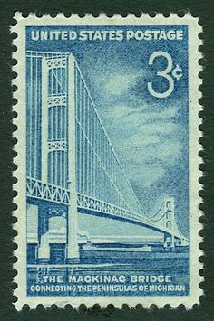 Mackinac Bridge U.S. Stamp