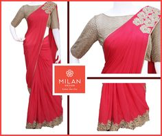 Milan Design is the Best Wedding Sarees Shop in Kochi, Kerala. Milan offers a wide variety of innovative Customized designs and styles. Milan Design, Kochi, Deepika Padukone, Saree Wedding, Kerala, Custom Design, Cold Shoulder Dress, Indian Outfits, Clothes