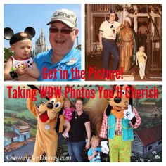 Don't hide from the camera at Walt Disney World! Your children will cherish the photos of you together.