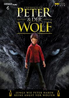 Boys like Peter are not afraid of Wolves!