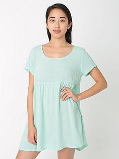 Rayon Babydoll Dress. Ummm, I'll take it in every available color I don't already own please!