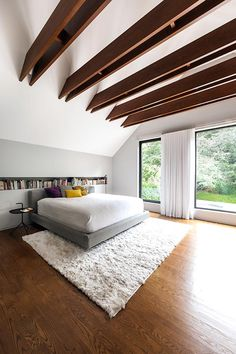 Project Image Quebec, La Shed Architecture, Residential Architect, Attic Renovation, Village Houses, Home Projects, Modern Design, Sweet Home, Indoor