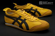 Onitsuka Tiger Mexico 66 - the same ones Bruce Lee wore in Game of Death and the Bride wore in Kill Bill. I have been looking for my size in these since 2003!